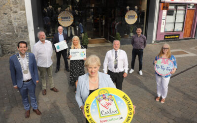 Minister Humphreys goes online with Love Carlow to connect with Carlow Retailers, Producers and Communities