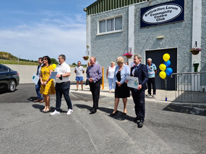 Official Opening of Ballinkillen Community Centre
