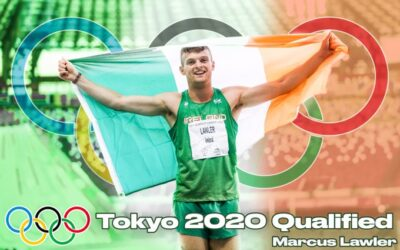 Marcus Lawler flying the flag for Carlow & Ireland at Tokyo Olympics