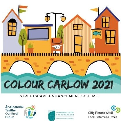 €220,000 opportunity for four communities to paint the town red with new Colour Carlow – Streetscape Enhancement scheme